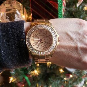🌺 Gold Metal Bezal Watch 🌺